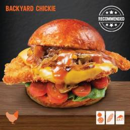 Mymarshall's Co Backyard Chickie Burger