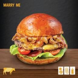 Mymarshall's Co Marry Me Burger