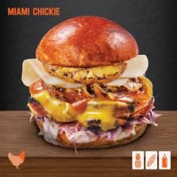 Mymarshall's Co Miami Chickie Burger